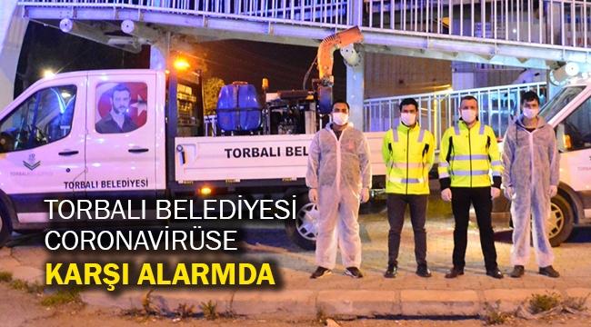 Torbalı Belediyesi coronavirüse karşı alarmda