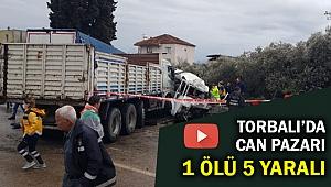 Torbalı'da feci kaza... Vatandaşlar hayat kurtarmak için seferber oldu!