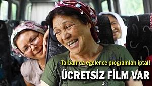 Torbalı'da kadınlar gününe özel 2 film gösterimi