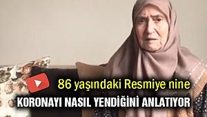 86 yaşında Korona'yı nasıl yendiğini anlattı