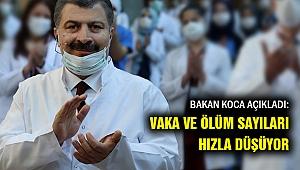 Bakan Koca açıkladı: Türkiye'nin verilerinde çok iyi gelişme...