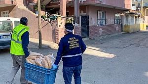 Buca Belediyesi'nden ihtiyaç sahiplerine 40 bin ekmek
