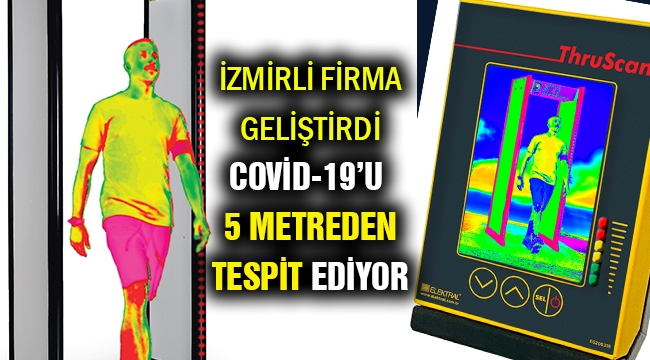 Covid-19'u 5 metre mesafede tespit ediyor