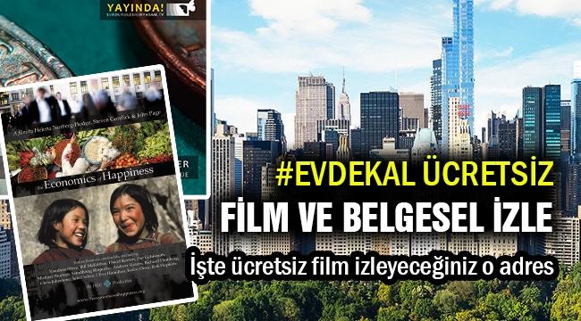 #evdekal ücretsiz belgesel ve film izle