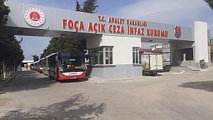 Foça Açık Ceza'dan 1247 kişi tahliye oldu