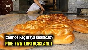 İzmir'de pide fiyatları açıklandı…