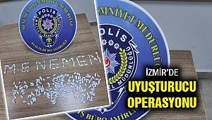 İzmir'de uyuşturucu operasyonu...