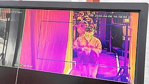 İzmir'de yoğun alanlara termal kamera yerleştirildi