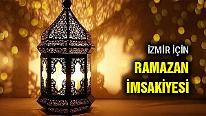 İzmir Ramazan İmsakiyesi 2020