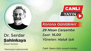 """""""Korona Günlükleri"""" Mustafa Kemal Erdemol ile Serdar Şahinkaya'yı ağırlıyor"""