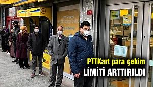 PTT günlük para çekim limitini 5 bin liraya yükseltti