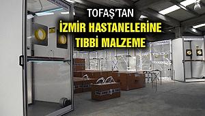 Tofaş'ın katkılarıyla İzmir'e tıbbi malzeme