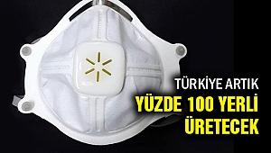 Türkiye, N95 maskeyi yüzde 100 yerli üretmeyi başardı
