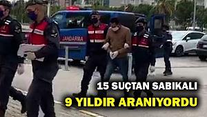 9 yıldır aranan suç makinası Menderes'te yakalandı!