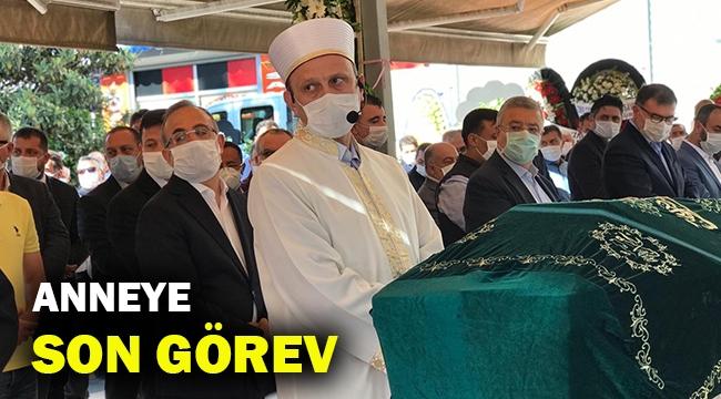 AK Parti İl Başkanı Sürekli'den anneye son görev!