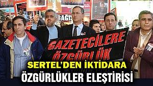 """Atilla Sertel: AKP'nin """"istikrarlı"""" olduğu tek alan özgürlük ihlalleri"""