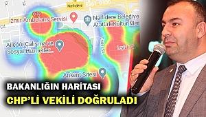 Bakanlığın Kovid haritası CHP'li vekili haklı çıkardı