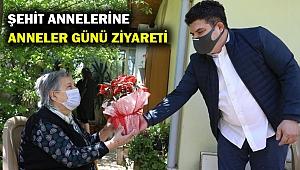 Başkan Erhan Kılıç'tan şehit annelerine 'Anneler Günü' ziyareti