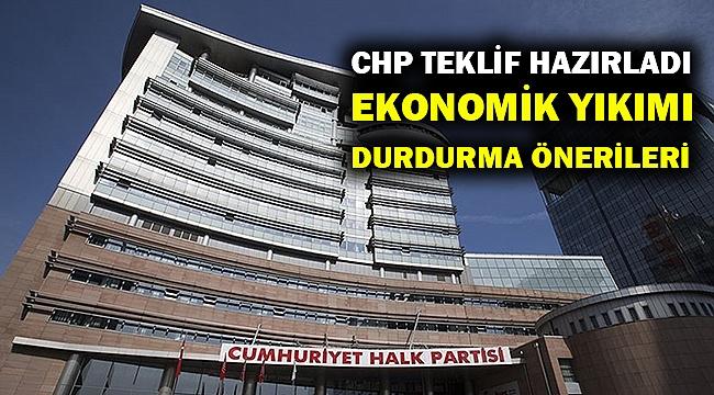 CHP kanun teklifi hazırladı... İşte Kovid-19'un ekonomik yıkımı için önlemler...