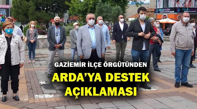 Gaziemir İlçe Başkanı Özkan: Amaçları CHP'li yerel yönetimlerin başarısını gölgelemek!