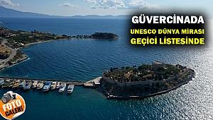 Güvercinada Kalesi, UNESCO Dünya Mirası Geçici Listesinde
