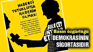 Hüner:  'Basın özgürlüğü demokrasinin sigortasıdır'