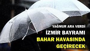 İzmir bahar havasına geri döndü...