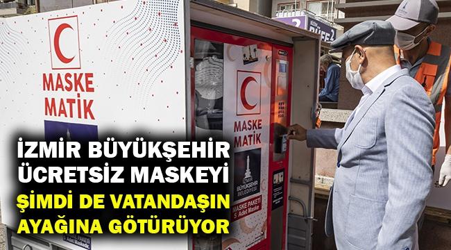İzmir'de şimdi de seyyar maskematik