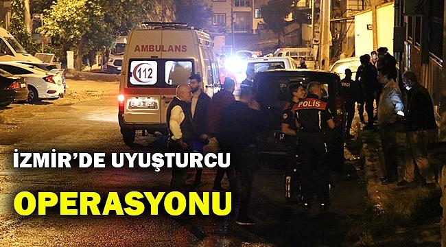 İzmir'de uyuşturucudan aranan kişi pansiyonda yakalandı