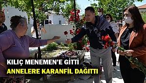 İzmir Milletvekili Kılıç Menemen'i ziyaret etti