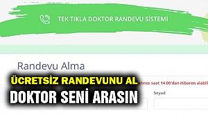 İzmirlilere doktor artık bir  telefon kadar yakın