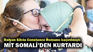 Kenya'da kaçırılıp Somali'ye götürülen İtalyanı MİT kurtardı