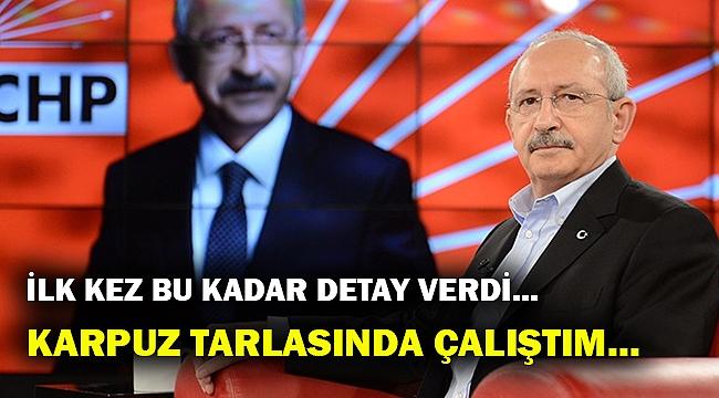Kılıçdaroğlu, Halk TV'e konuk oldu... İlk kez bu kadar detay anlattı..