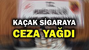 Manisa'da kaçak sigara satışı yapanlara 31 bin lira ceza