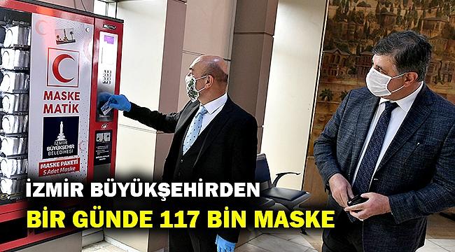 Maskematiklerden bir günde 117 bin maske dağıtıldı