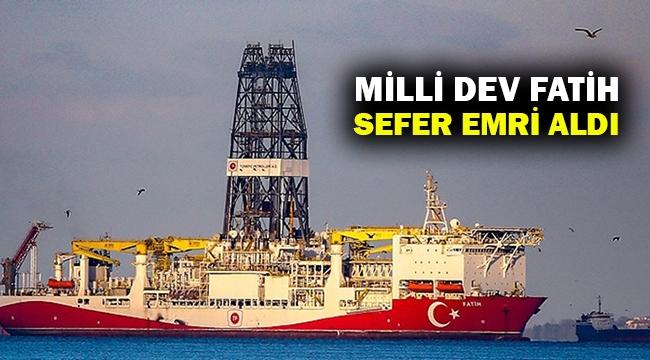 'Milli dev' sondaj gemisi Fatih, 29 Mayıs'ta sefere çıkıyor...