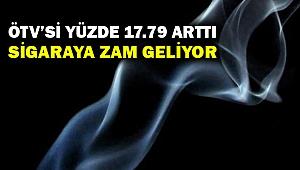 Sigaranın ÖTV'si yüzde 17,79 arttı... Sigaraya zam geliyor!