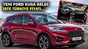 Yeni Ford Kuga Haziran'da satışa sunulacak... İşte Türkiye fiyatı...