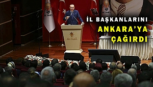 AK Parti Genişletilmiş İl Başkanları Toplantısı yüz yüze yapılacak