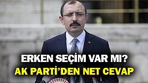 AK Parti Grup Başkanvekili Muş: Seçimler 2023 yılının Haziran ayında...