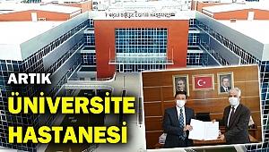 AK Partili Dağ duyurdu:  Çiğli Devlet artık üniversite hastanesi