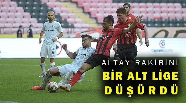 Altay, Eskişehir'den bir puanla döndü