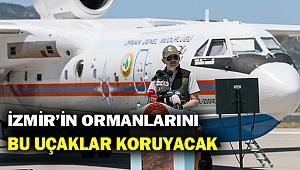 Bakan Pakdemirli yeni yangın uçaklarını tanıttı