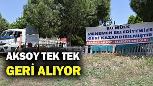 Başkan Aksoy: Kimse belediyenin mallarının üzerine çökemez