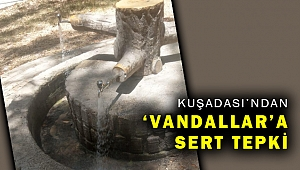 """BAŞKAN ÖMER GÜNEL'DEN """"VANDALLIK"""" TEPKİSİ"""