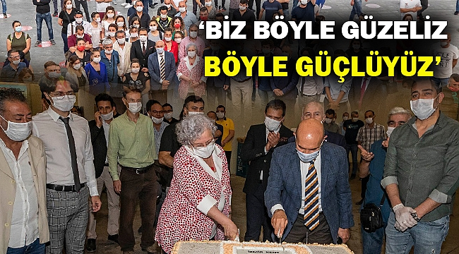 Başkan Soyer İzmir gönüllülerini ziyaret etti