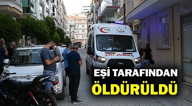 Bir kadın cinayeti de İzmir'de... Eşi tarafından bıçaklanarak öldürüldü...