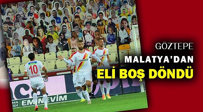 BtcTurk Yeni Malatyaspor: 2 - Göztepe: 1