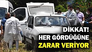 Cezaevinden firar etti... 2 araç gasp etti... 3 kişiye çarparak yaraladı...