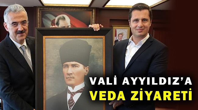 CHP İl Başkanı Yücel'den Eskişehir'e atanan Vali Ayyıldız'a veda ziyareti